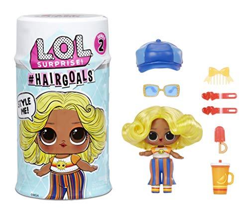 LOL Surprise Hairgoals. Surprise Puppe mit bürstbarem Haar und 15...