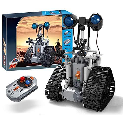 WEIZQ Technik Bausteine Fernbedienung Roboter, 408 Klemmbausteine...