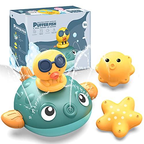 CAVN Baby Badespielzeug Wasserspielzeug, Baby Badespass Whale...