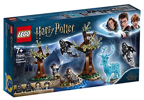 LEGO 75945 Harry Potter Expecto Patronum Set mit 4 Minifiguren und...