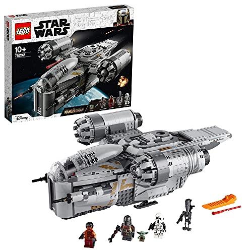 LEGO 75292 Star Wars Der Mandalorianer – Razor Crest, mit Baby Yoda...