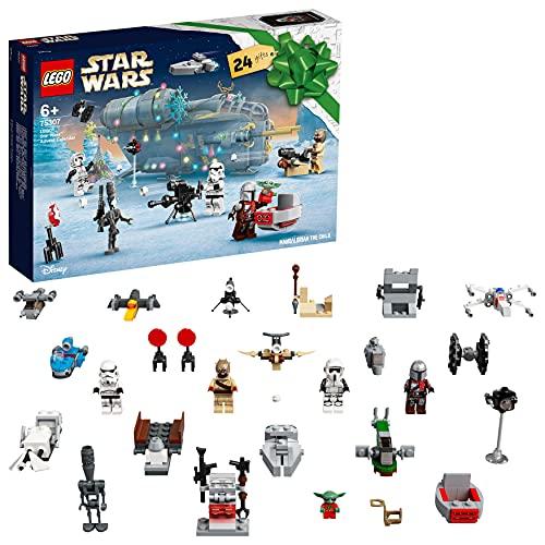 LEGO 75307 Star Wars Adventskalender 2021 Bausatz Mandalorianer Kinder...