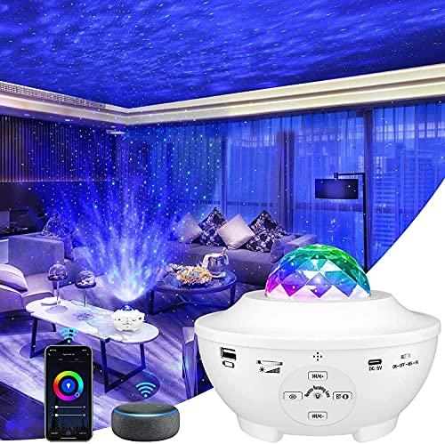 Wifi Smart Projektor, IKHDCYHLED, Bluetooth-Lautsprecher,...
