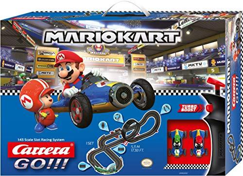 Carrera 20062492 GO!!! Nintendo Mario Kart Mach 8 Rennstrecken-Set |...