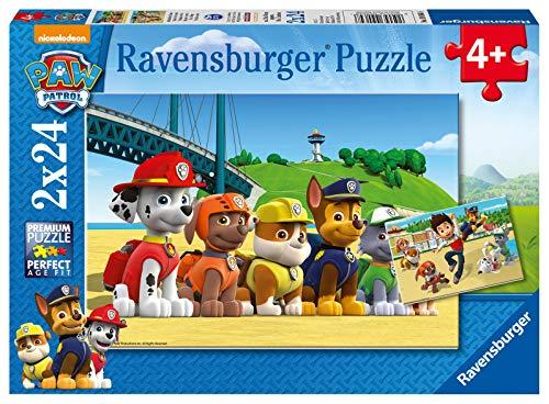 Ravensburger Kinderpuzzle - 09064 Heldenhafte Hunde -...
