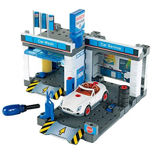 Theo Klein 8647 Bosch Car Service Station I Mit Waschanlage und...