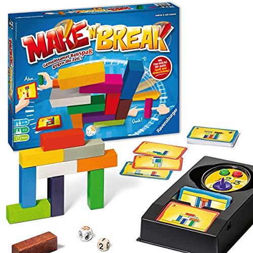 Ravensburger 26750 Make 'n' Break - Gesellschaftsspiel für die ganze...