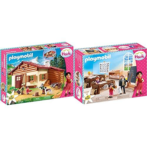 Playmobil Heidi 70253 Heidi und Großvater auf der Almhütte, Ab 4...
