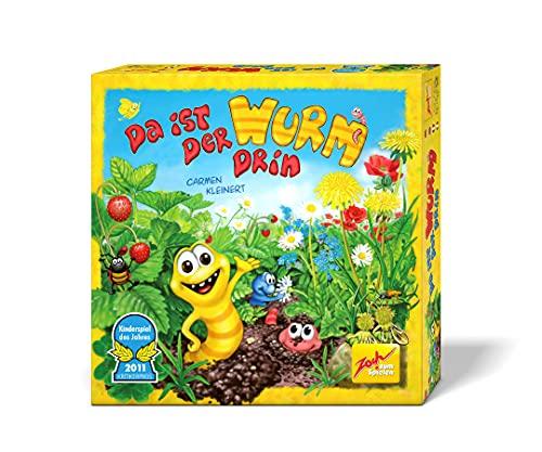Zoch 601132100 Da ist der Wurm drin, Kinderspiel 2011, kinderleichtes...