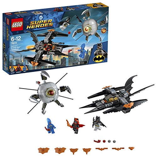 LEGODCSuper Heroes Batman: Brother Eye Gefangennahme (76111) beliebtes Kinderspielzeug
