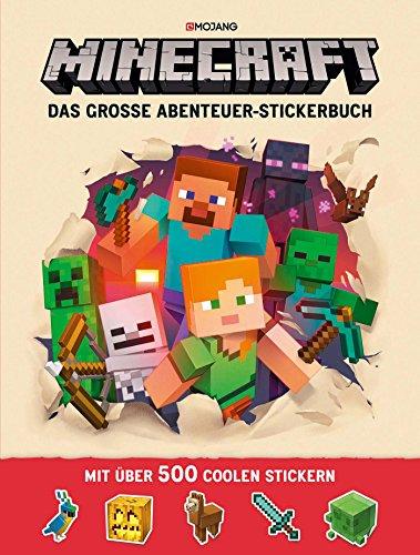 Minecraft, Das große Abenteuer-Stickerbuch: Ein offizielles...