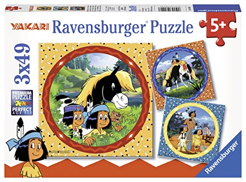 Ravensburger Kinderpuzzle 08000 - Yakari, der tapfere...