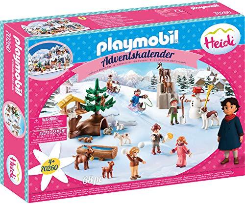 PLAYMOBIL Adventskalender 70260 Heidis Winterwelt, Für Kinder ab 4...