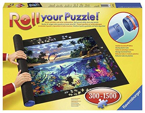 Ravensburger Roll your Puzzle - Puzzlematte für Puzzles mit bis zu 1000 Teilen, Puzzleunterlage zum Rollen,...