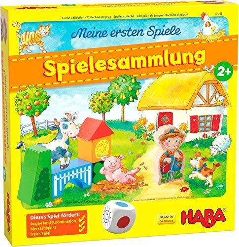 HABA 304223 - Meine ersten Spiele – Spielesammlung, 10 erste Spiele...