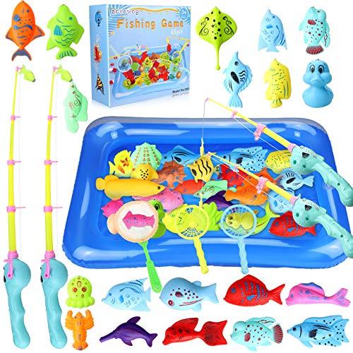 aovowog 48 Stück Baby Angeln Spielzeug ab 1 2 3...