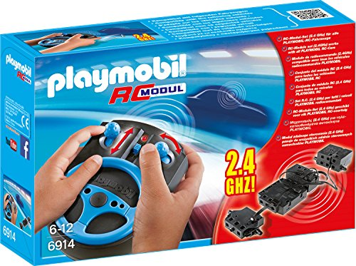 Playmobil City Action 6914 RC-Modul-Set 2,4 GHz, Ab 5...