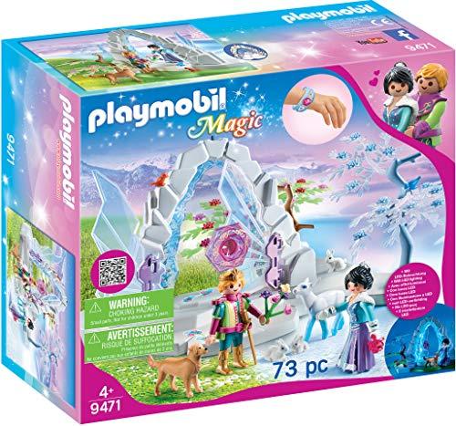 PLAYMOBIL Magic 9471 Kristalltor zur Winterwelt mit Lichteffekt und...