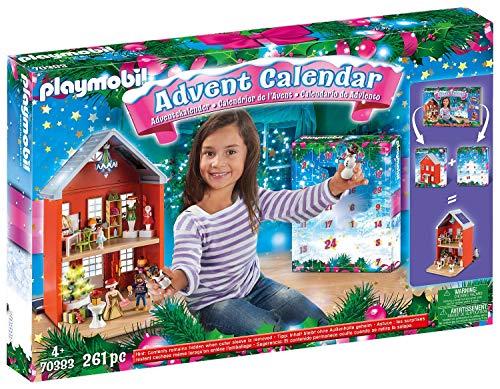 PLAYMOBIL Großer Adventskalender 70383 Weihnachten im Stadthaus,...