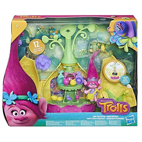 Hasbro Trolls E0335EU4 Poppy's Käfer-Spielplatz, Spielset