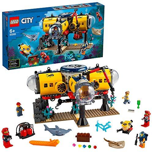 LEGO 60265 City Meeresforschungsbasis, Tiefsee-Unterwasser Set,...