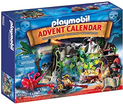 PLAYMOBIL Adventskalender 70322 Schatzsuche in der Piratenbucht mit...