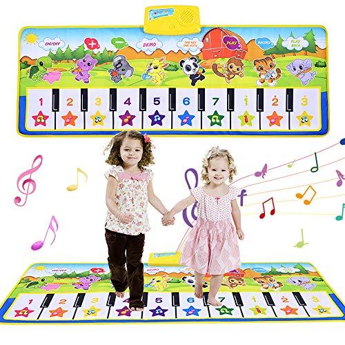 GOLDGE Klaviermatte Musikmatte Tanzmatte Kinder...