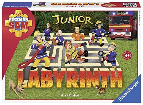 Ravensburger Kinderspiele 21282 - Fireman Sam Junior Labyrinth