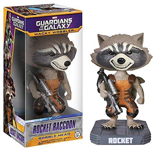 Funko FUN3962 Wacky Wobbler Marvel Guardians Of The Galaxy Rocket...