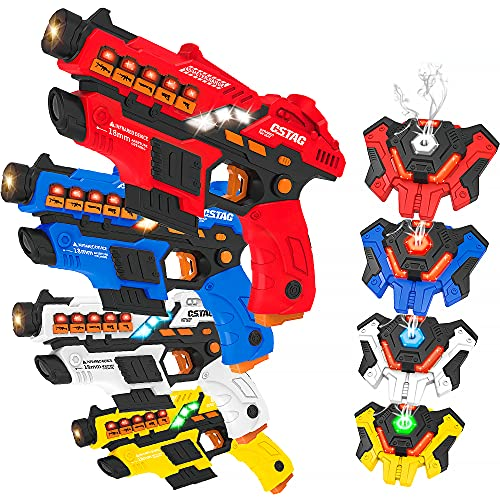 VATOS Laser Tag Spielzeug Pistole Sprühfunktion und LED-Bildschirm,...