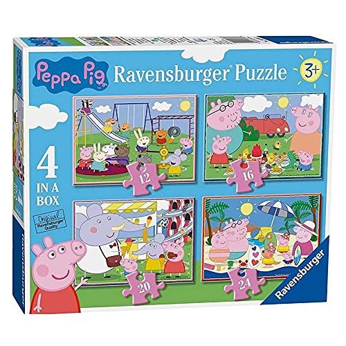 Ravensburger Peppa Wutz Puzzle für Kinder ab 3 Jahren, 10,2 cm (12,...