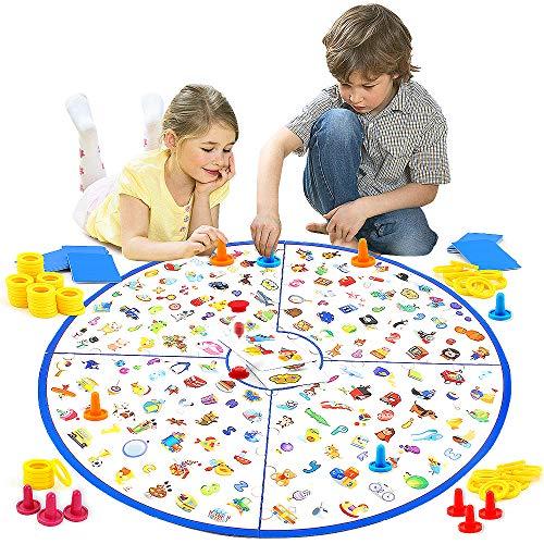 VATOS Brettspiel, Lernspiel Kleiner Detektiv Brettspiele für Kinder...