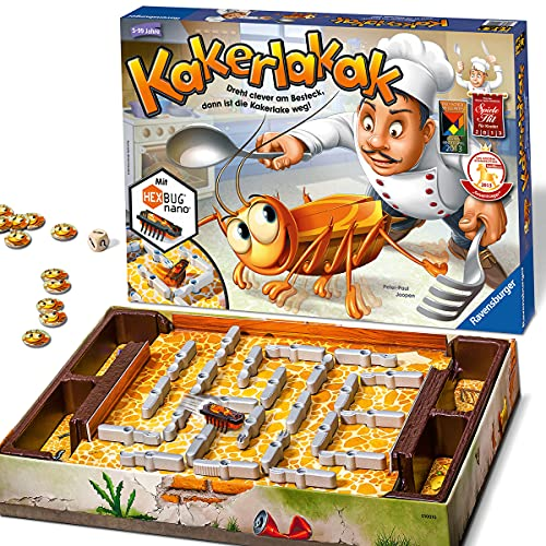 Ravensburger 22212 - Kakerlakak - Kinderspiel mit elektronischer...