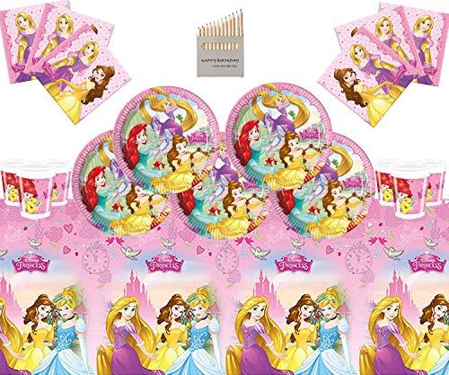 Disney Princess Party Supplies Mädchen komplette Geburtstag Party...