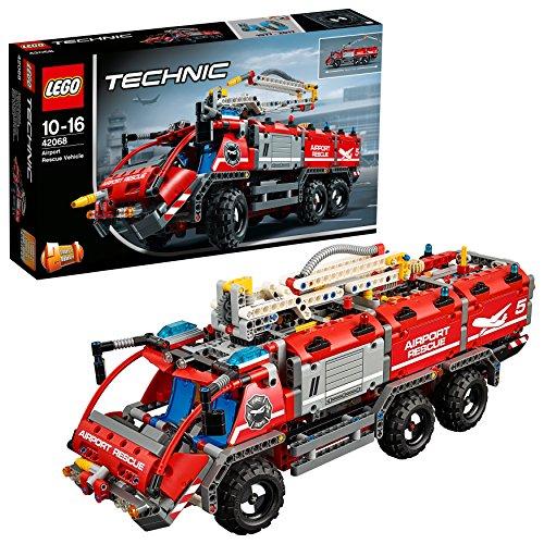 LEGO Technic 42068 - 'Flughafen-Löschfahrzeug Konstruktionsspiel,...