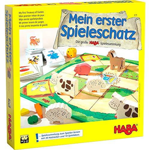 Haba 4278 - Mein erster Spieleschatz Die große Haba-Spielesammlung,...