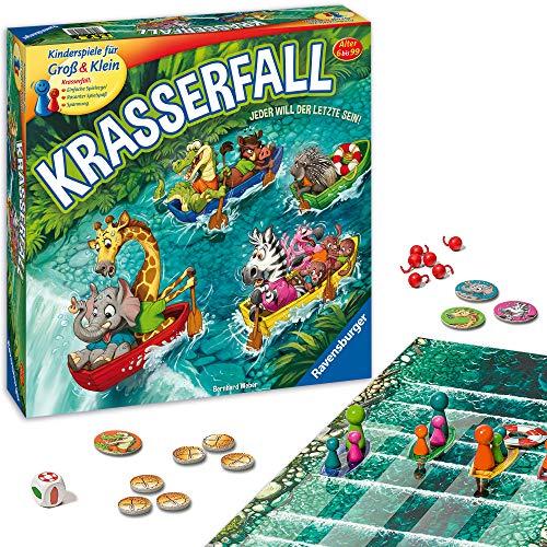 Ravensburger - 20569 - Krasserfall - rasantes Brettspiel für Familien...