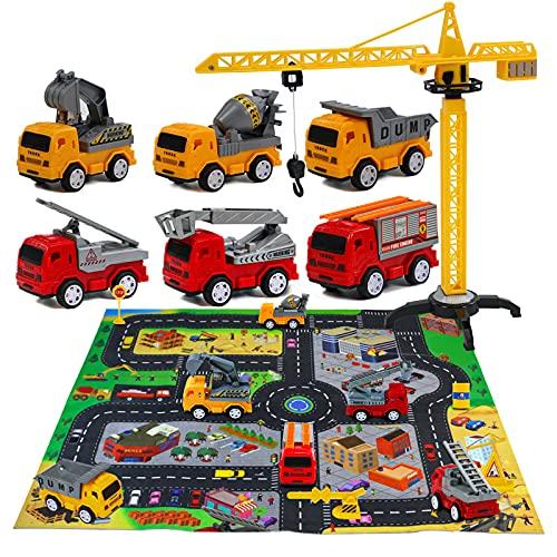 Akokie Auto Spielzeug Spielzeugauto Set Kinderspielzeug Kinder ab 3...