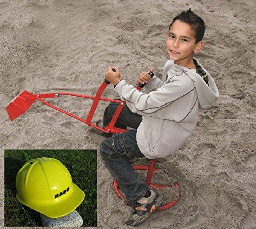 "Original Metall Sandbagger & 1 x Bauhelm Gratis ""Kindergarten... *"