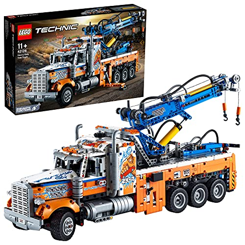 LEGO 42128 Technic Schwerlast-Abschleppwagen, Modellbauset, Technik...