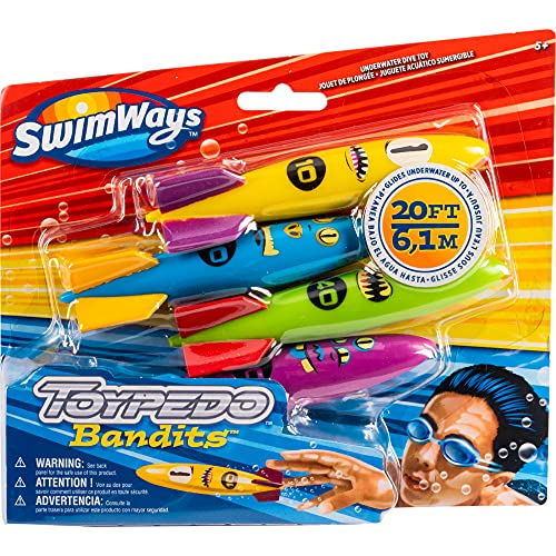 SwimWays ToyPedo Bandits Tauchspielzeug für Kinder ab...