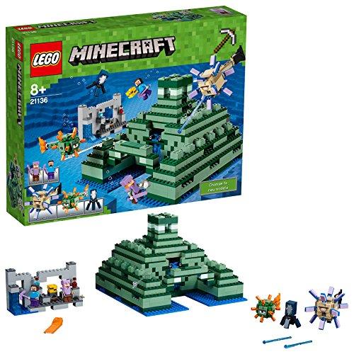 Lego Minecraft 21136 - 'Das Ozeanmonument Konstruktionsspiel, bunt