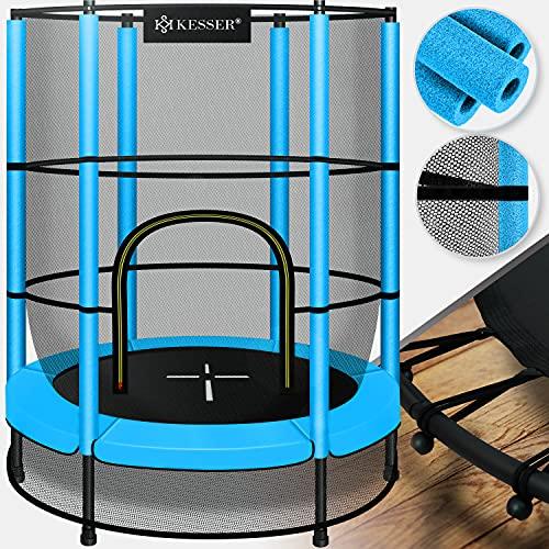 KESSER® Trampolin Kindertrampolin Indoor-Trampolin, Ø 140 cm , mit...