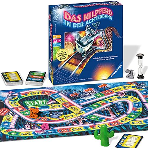 Ravensburger 26772 - Nilpferd in der Achterbahn - Gesellschaftsspiel...