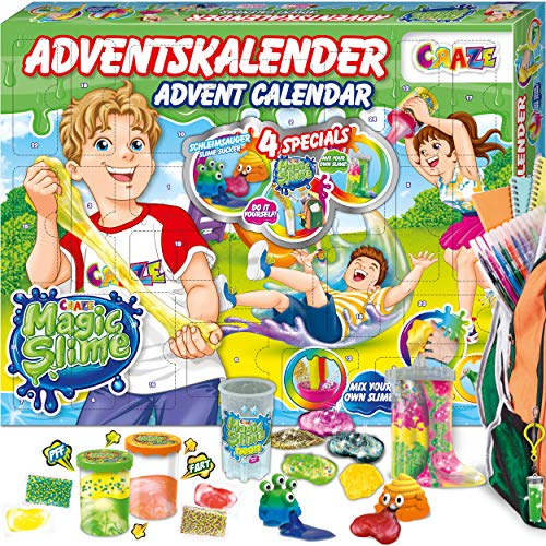 CRAZE Adventskalender 2020 MAGIC SLIME Schleimlabor Weihnachtskalender...