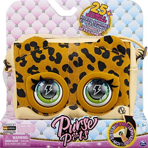 Purse Pets Leoluxe Leopard Tasche