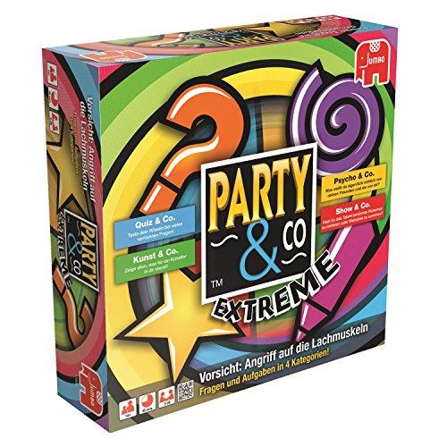 Jumbo JUM17864 Party & Co. Extreme Gesellschaftsspiel, Partyspiel,...
