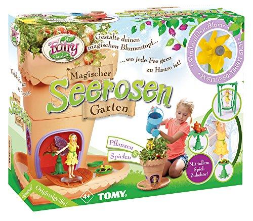 My Fairy Garden Spielzeugset, Garten zum selber Pflanzen & Spielen, Magischer Seerosen-Garten für Kinder ab 4...