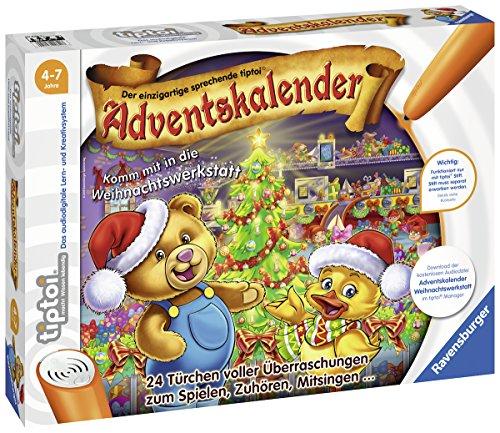 Ravensburger 00840 tiptoi Adventskalender 2018-Komm mit in die...