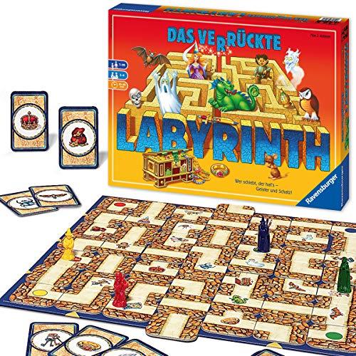 Ravensburger Familienspiel 26446 - Das verrückte Labyrinth - Kinder-...